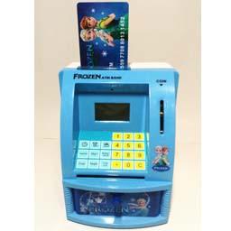 Frozen Mainan ATM mini celengan