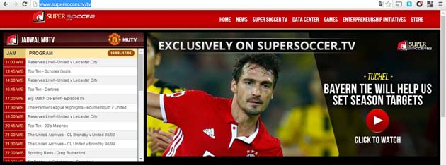 Super Soccer TV MUTV