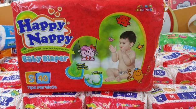 happy nappy baby diaper